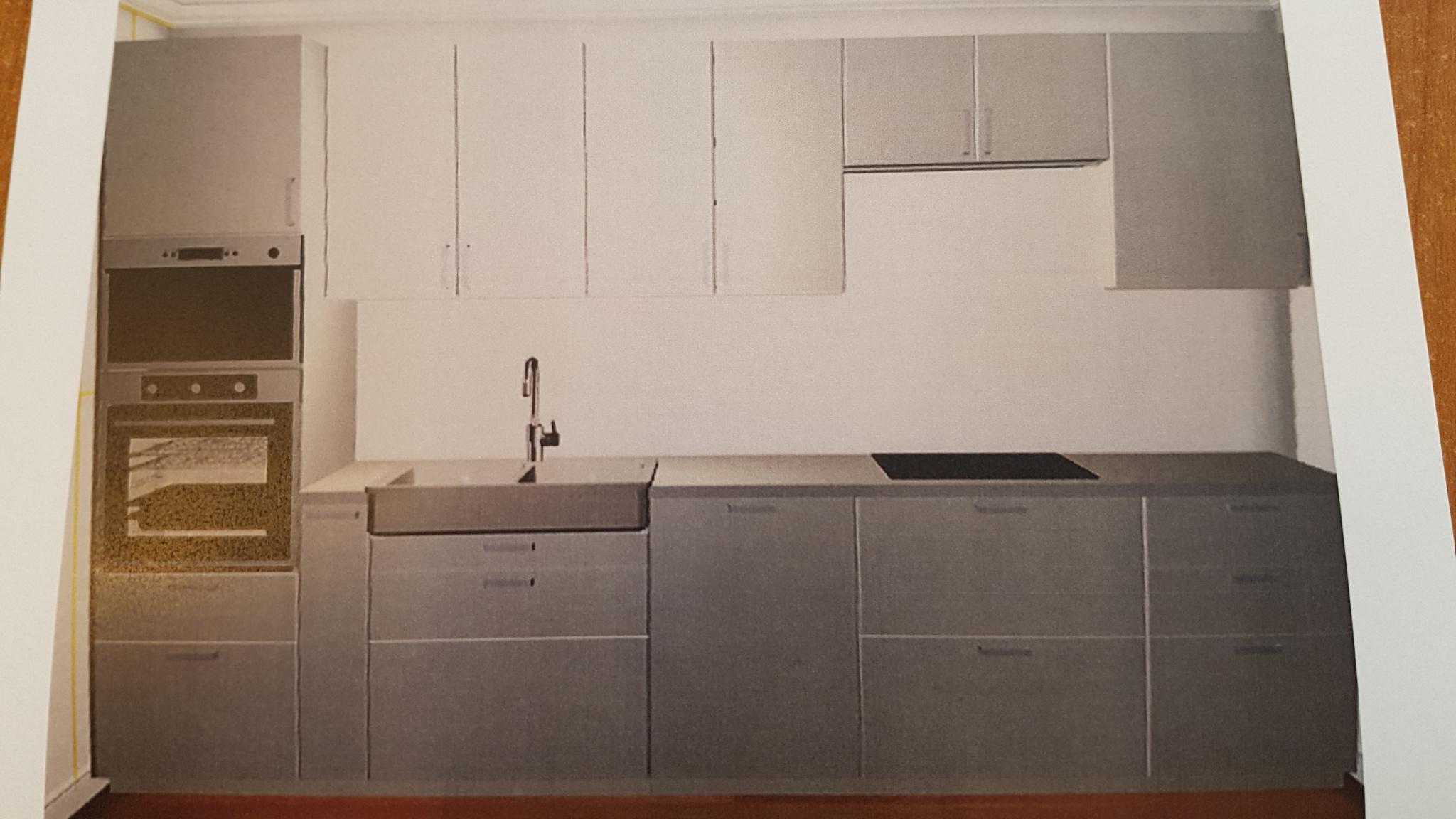 nouvelle cuisine qui a été installée